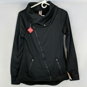 Champion cross zip cowl neck duo dry jacket